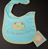 Bugs Are Vegetables Too Bib Bunnies by the Bay $12.99