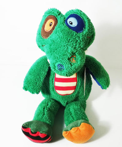 "Uncle Earl Gator by Mary Meyer 12"" Seated"