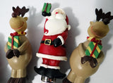 Christmas  Appetizers Spreaders Reindeer Santa $13.99