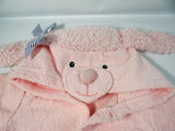Pretty In Pink Poodle Hooded Spa Robe Aspen $34.99