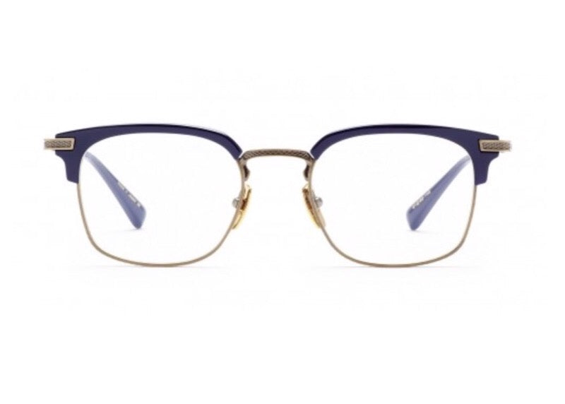 84ef6e859e DITA NOMADS SQUARE-FRAME NAVY OPTICAL GLASSES - Seattle Sunglass Company
