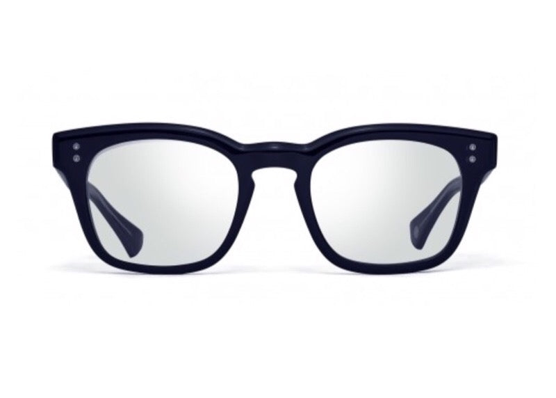 375b74df44 ... DITA MANN SQUARE-FRAME NAVY OPTICAL GLASSES ...