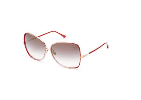 555df46669 DITA Eyewear Bluebird Two Round-Frame Gold Sunglasses
