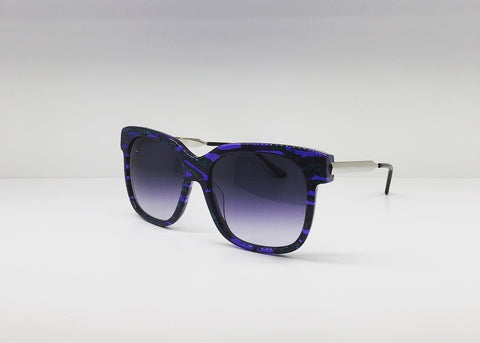 SEATTLESUNGLASS.COM: RAPSODY BLUE SQUARE-SUNGLASSES BY THIERRY LASRY