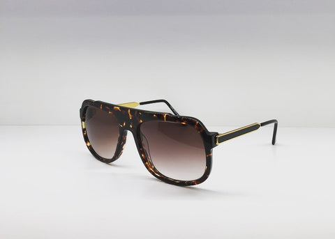 SEATTLESUNGLASS.COM: BOWERY MENS AVIATOR-SUNGLASSES BY THIERRY LASRY