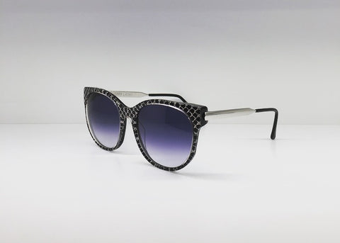 SEATTLESUNGLASS.COM: ANOREXXXY SILVER CAT-EYE FRAME BY THIERRY LASRY
