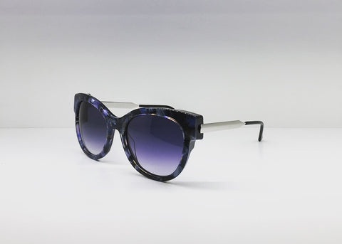 SEATTLESUNGLASS.COM: ANGELY BLUE CORAL CAT-EYE BY THIERRY LASRY