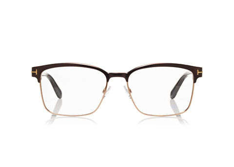 1b0f4ba615f Tom-Ford-TF-5323-Matte-Brown-Square-Optical-