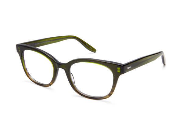 b80b1c0ca5 LORYN Round-Frame Green Tortoise Optical Glasses