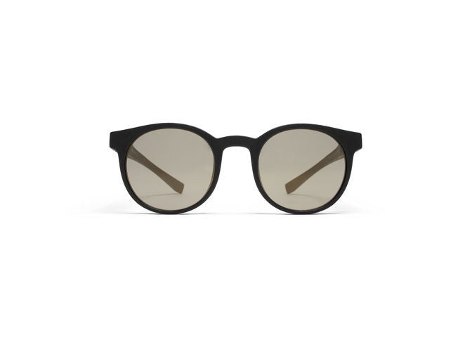 fc735a487f Mykita Mylon  Omega Round-Frame Black Sunglasses - Seattle Sunglass ...