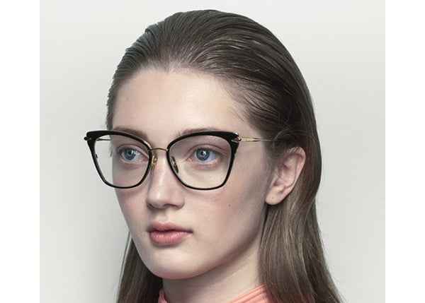 bf394ebd00 Arise Women s Cat-Eye Frame Rose Gold Optical Glasses