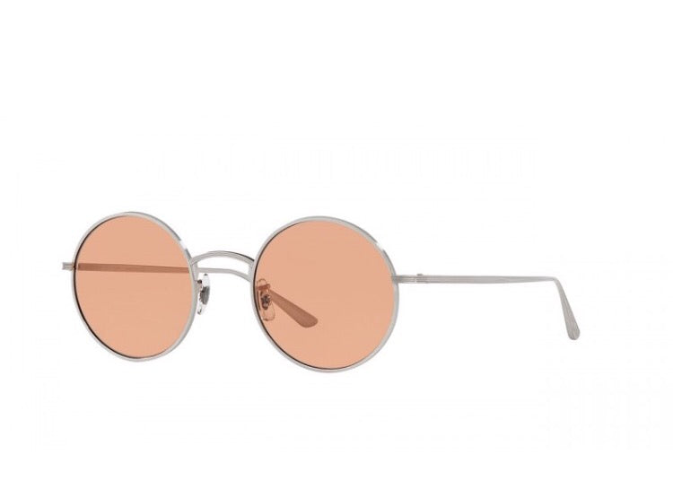 9097f0897045 The Row After Midnight Silver Round-Sunglasses | Seattle Sunglass Co ...