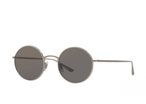 d4f3b790c89 The Row After Midnight Silver Round-Sunglasses
