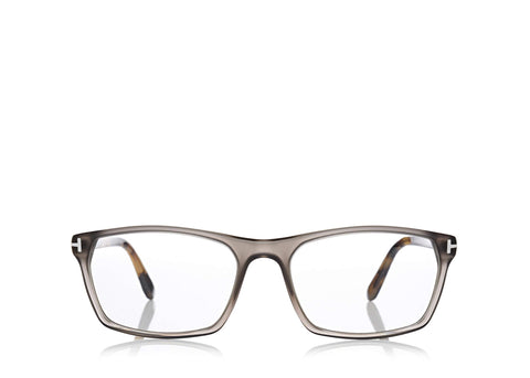 c16efb6c13 6468961714 TOM FORD FT-5295 UNISEX SQUARE-FRAME GREY OPTICAL GLASSES