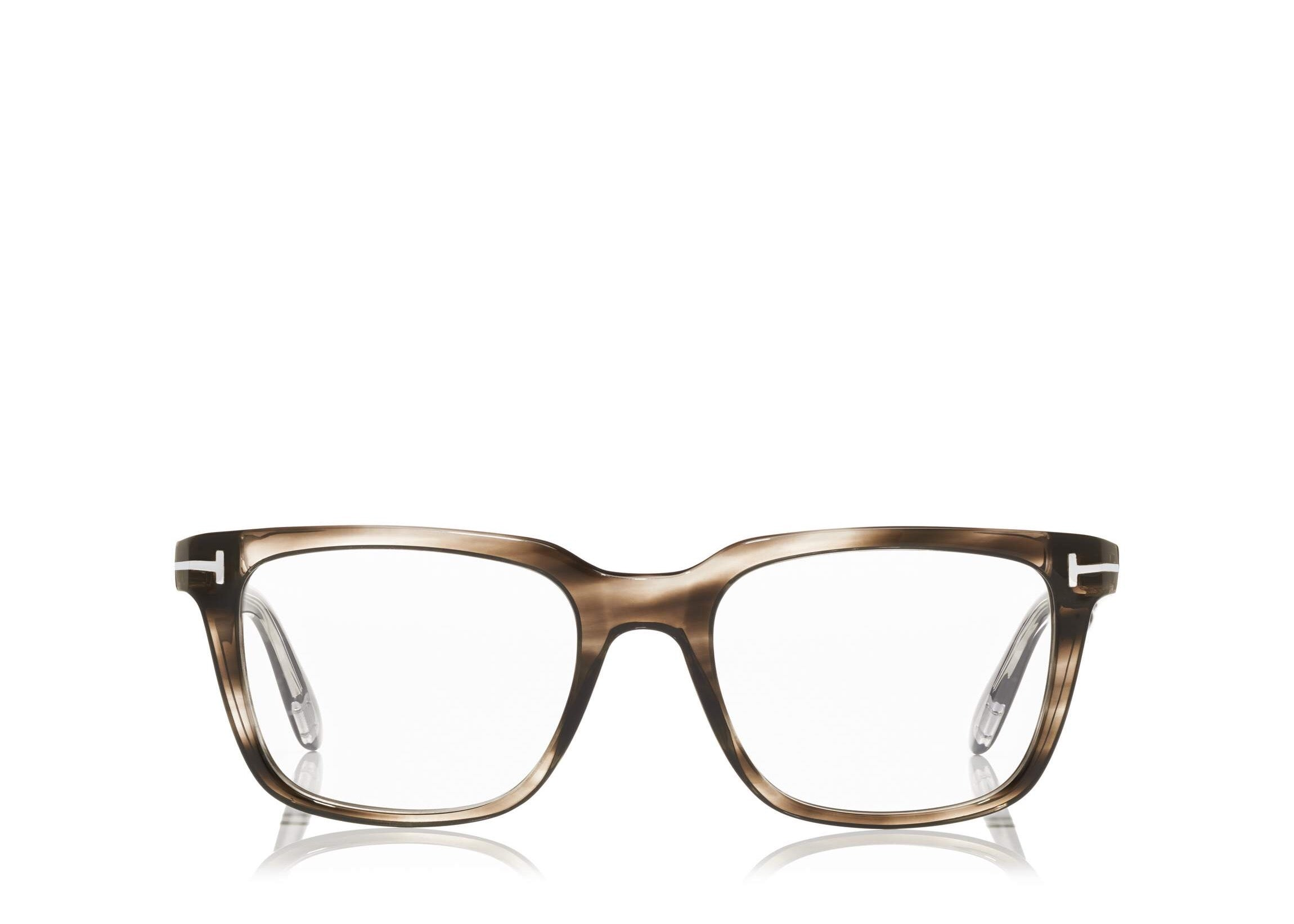 73542d47a35 FT-5304 Men s Grey Square-Frame Optical Glasses
