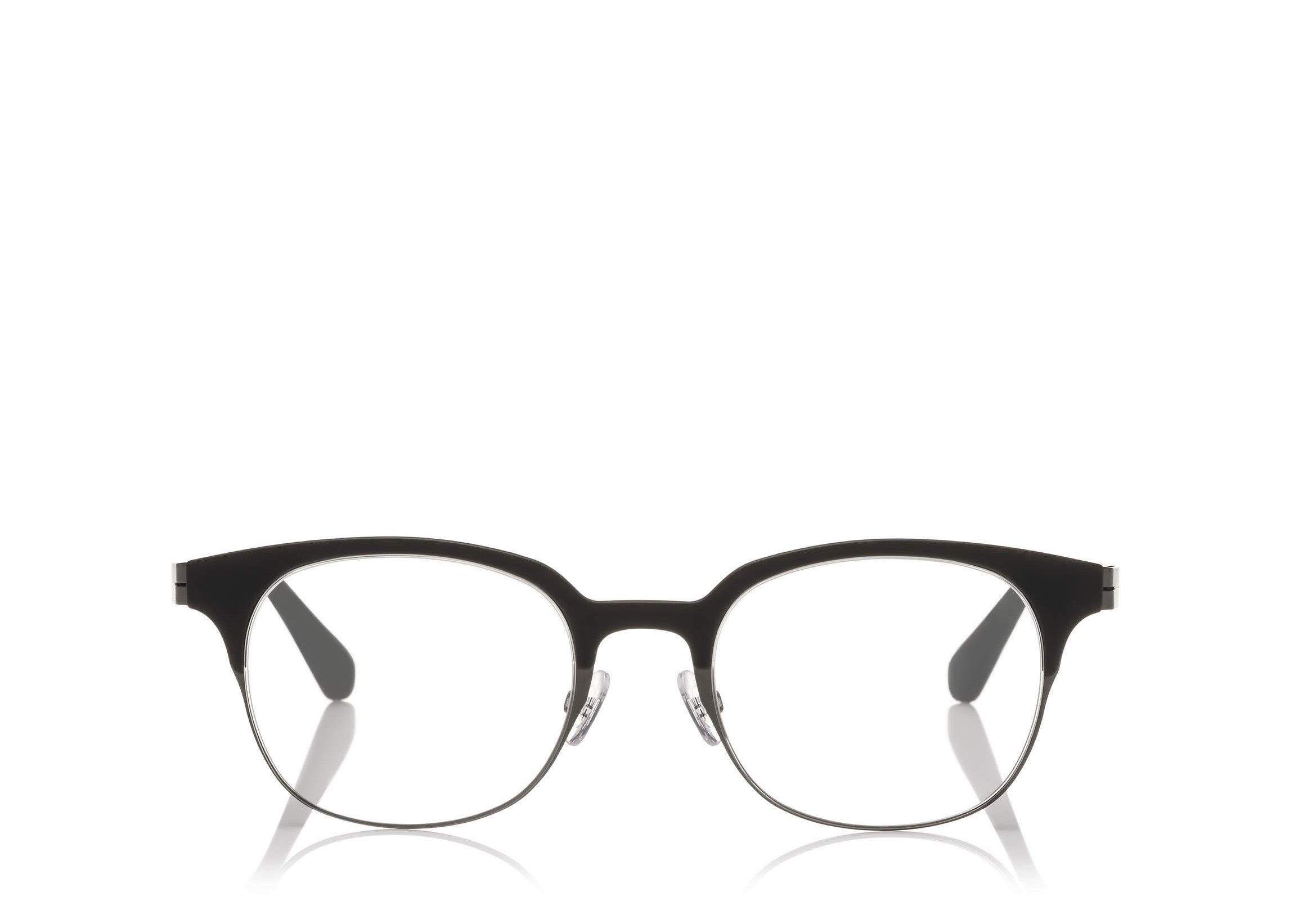 4ac1e20faf1 TOM FORD FT 5347 BLACK ROUND-FRAME OPTICAL GLASSES - Seattle ...