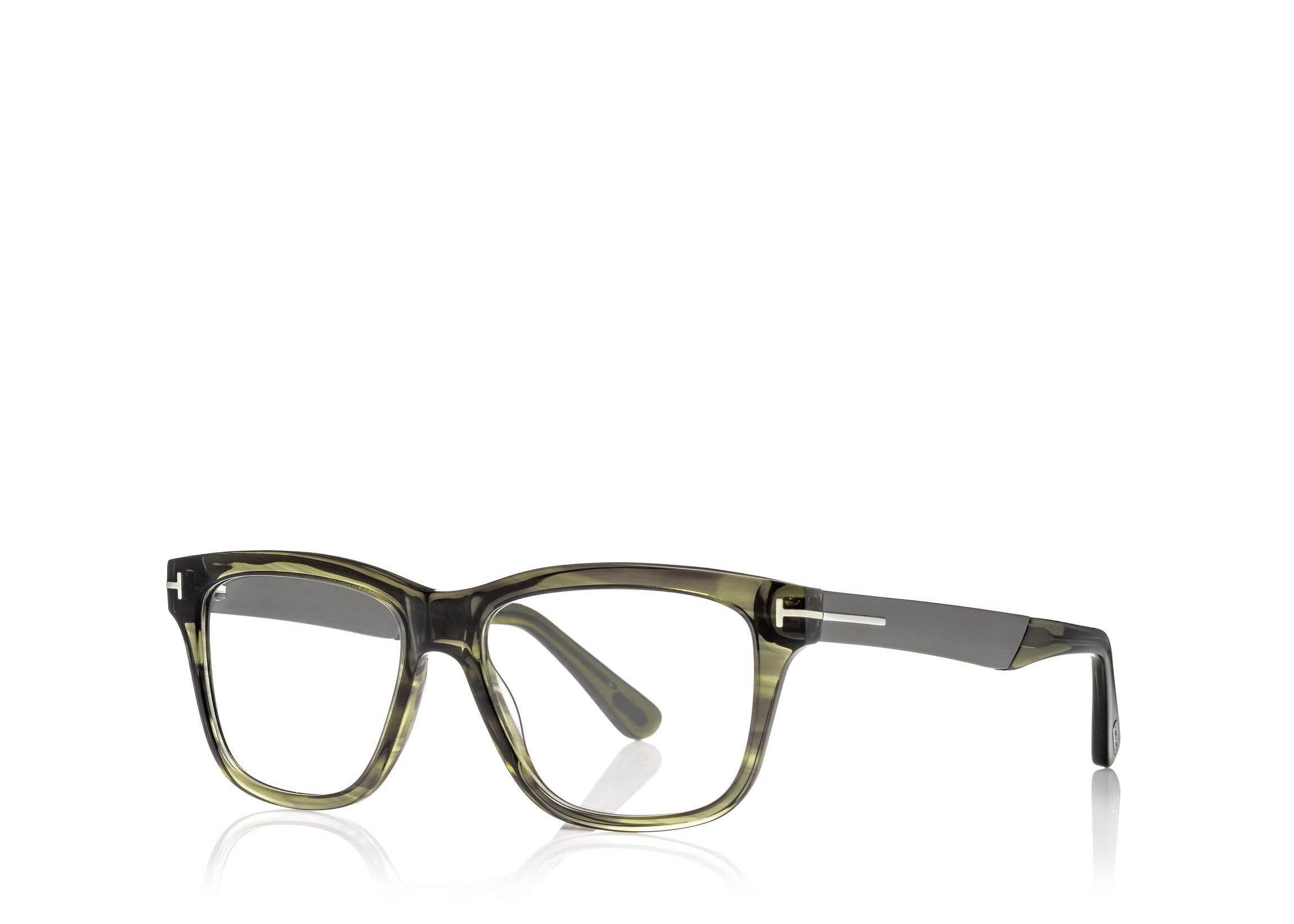 TOM FORD FT 5372 MEN\'S SQUARE-FRAME OPTICAL GLASSES - Seattle ...