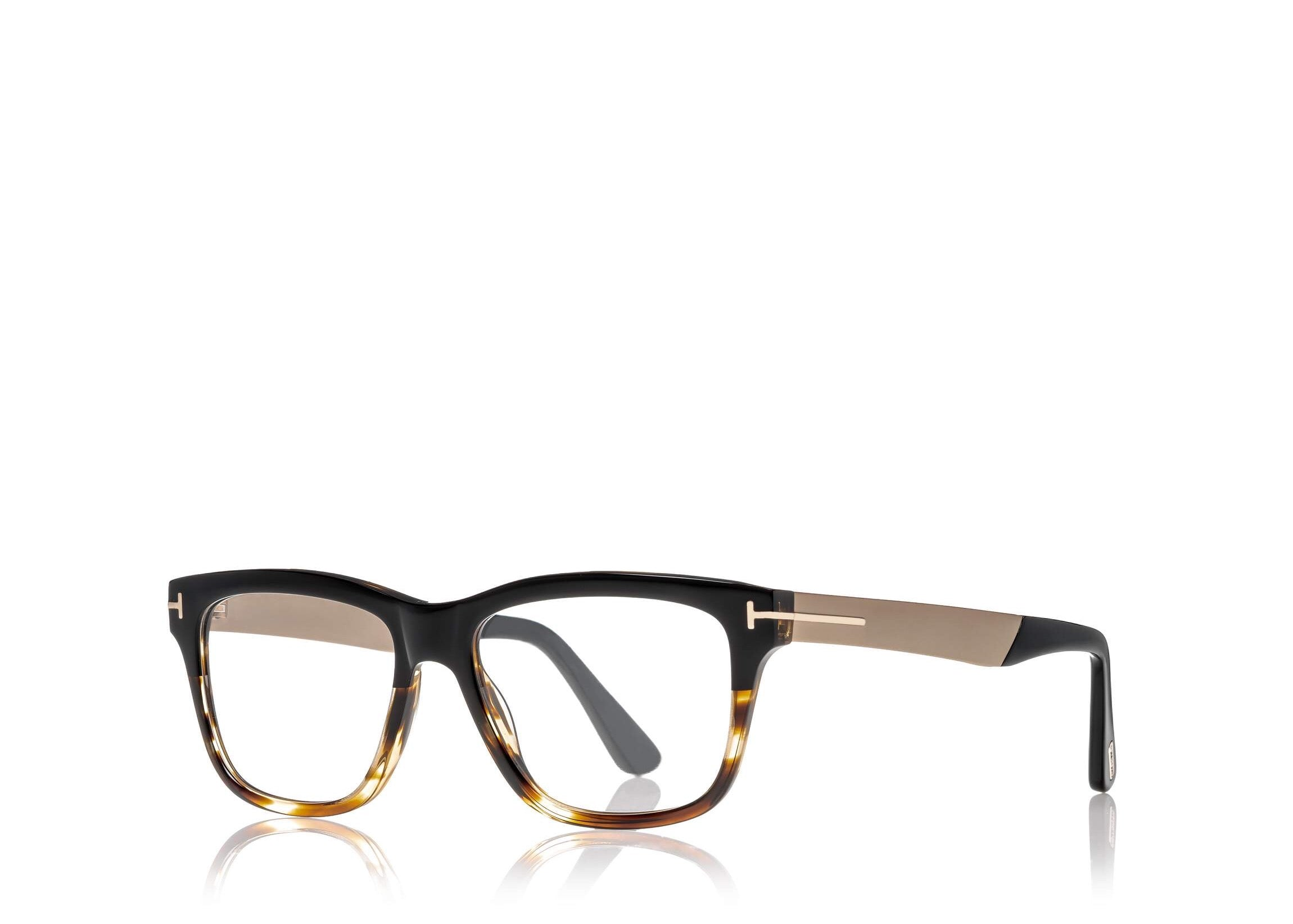 406e383caa ... 6468969091 TOM FORD FT 5372 MEN S BLACK SQUARE-FRAME OPTICAL GLASSES