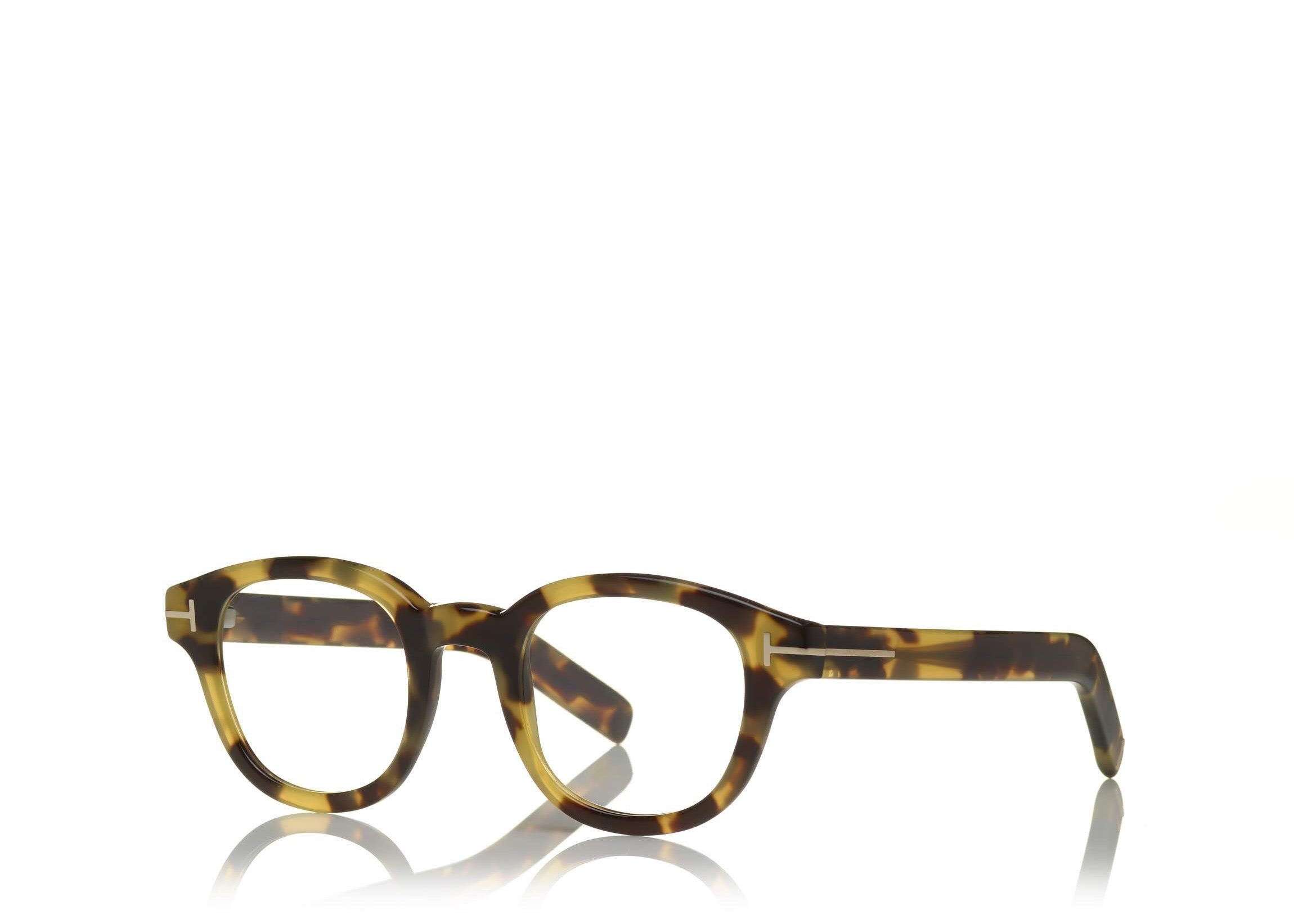 3aac6ff987c ... 6468981330 TOM FORD FT 5429 UNISEX ROUND-FRAME OPTICAL GLASSES