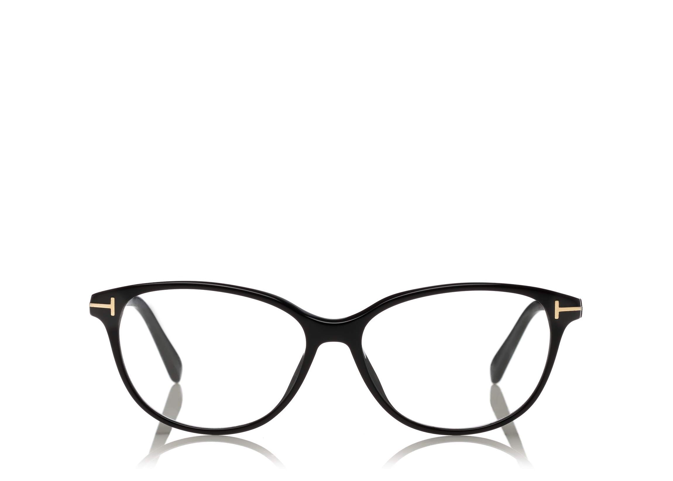 ab3e47dd117 6468981260 TOM FORD FT 5421 BLACK CAT EYE-FRAME OPTICAL GLASSES ...