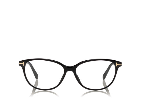 8dfe0ba195f 6468981260 TOM FORD FT 5421 BLACK CAT EYE-FRAME OPTICAL GLASSES