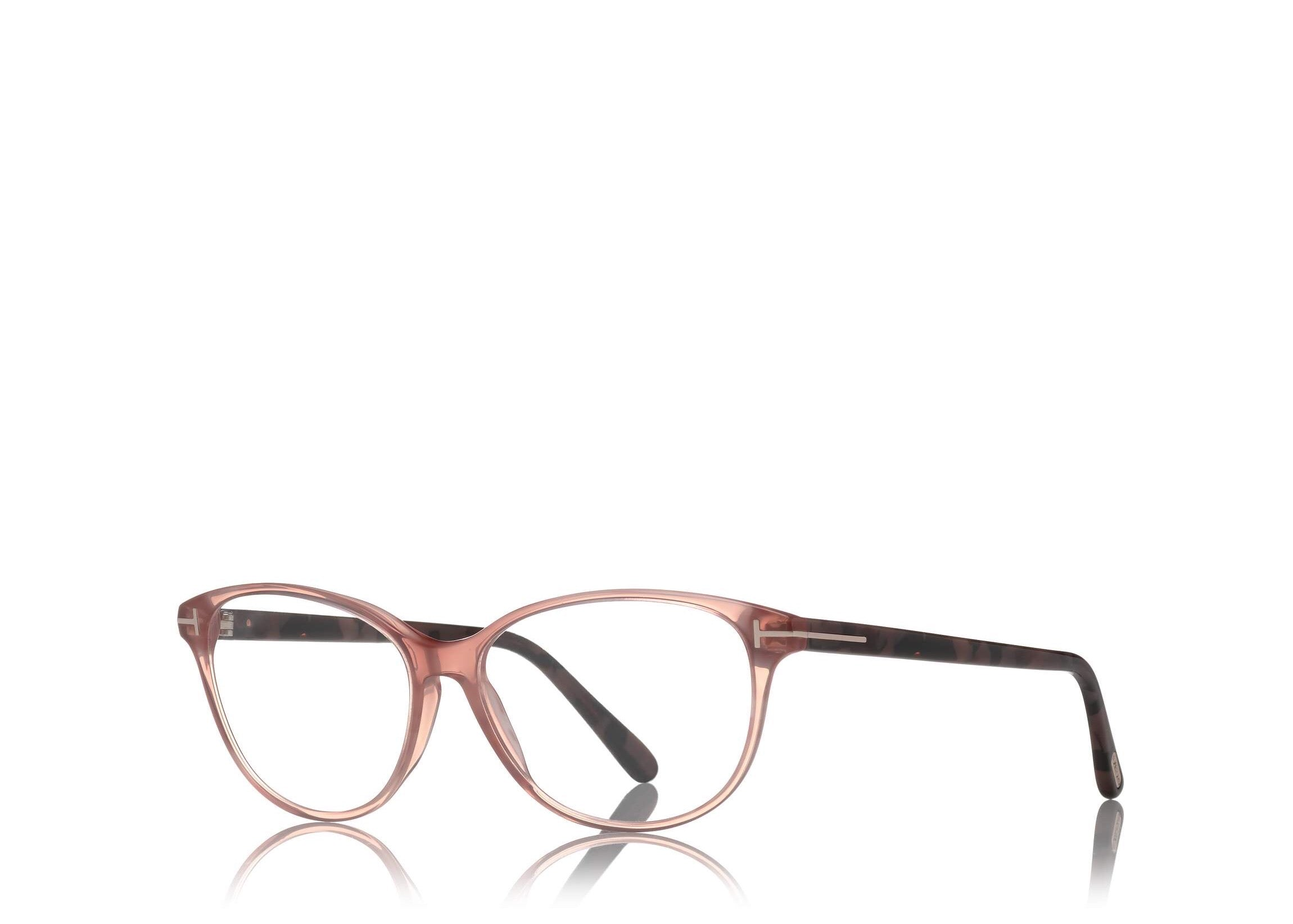 7d8920f72c TOM FORD FT 5421 PINK CAT EYE-FRAME OPTICAL GLASSES - Seattle ...