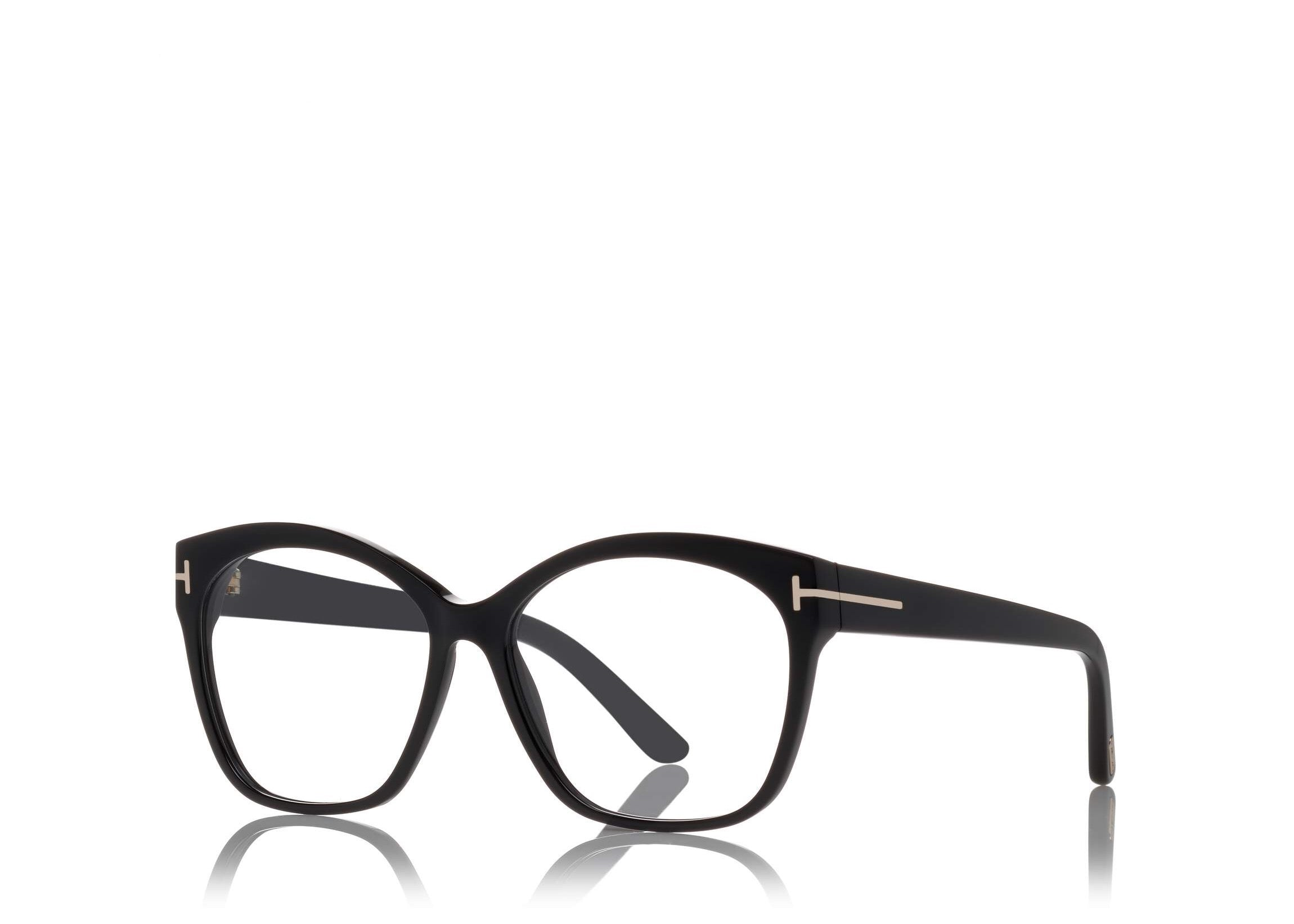 2807fa2b00c ... 6468981408 TOM FORD FT 5435 BLACK SQUARE-FRAME OPTICAL GLASSES