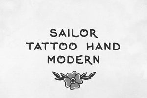 Sailor Tattoo Hand Modern Released