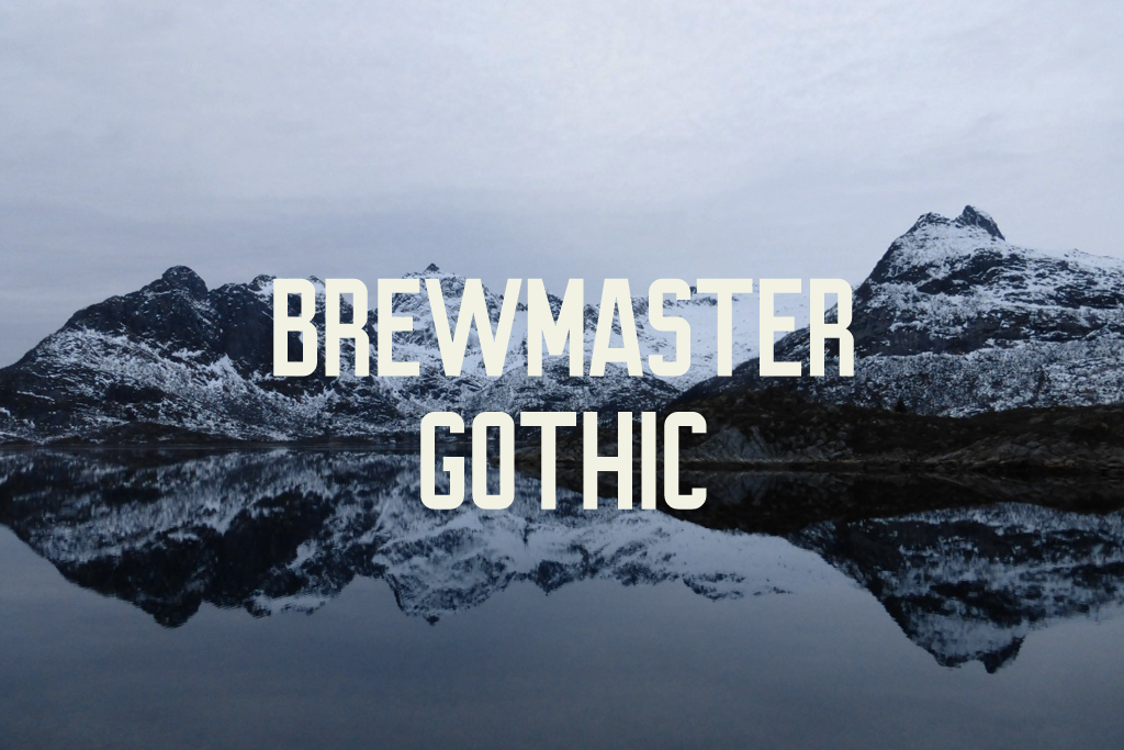 Full version of Brewmaster Gothic