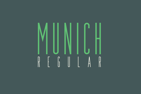 Full version of Munich Regular