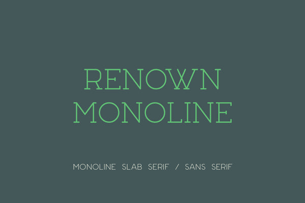 Full version of Renown Monoline
