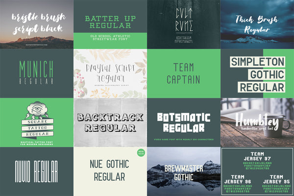 Full version of Free Font Package