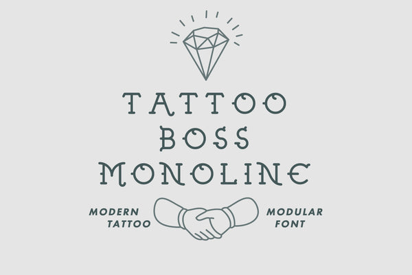 Full version of Tattoo Boss Monoline