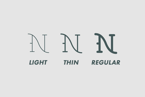 Tattoo Boss Monoline traditional tattoo font by Out of Step Font Company