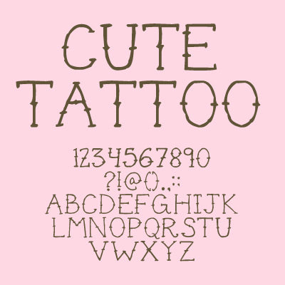 Top 30 Best Old School Tattoo Fonts Out Of Step Font Company