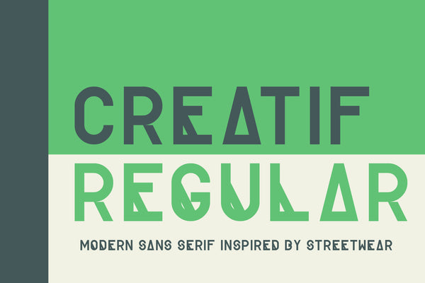 Full version of Creatif Regular