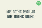 Nue Gothic Round Neo Grotesque Gothic font by Out of Step Font Company