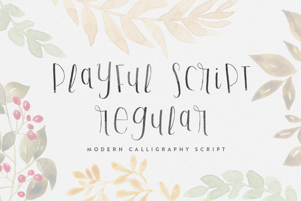 Full version of Playful Script Regular