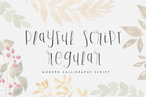 Playful Script Regular