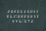 Sailor Scrawl Fancy Old School Nautical Tattoo Font by Out of Step Font Company