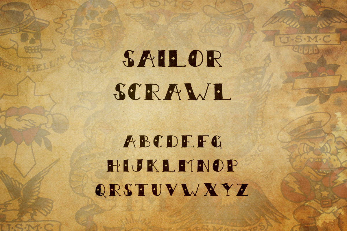 Sailor Scrawl Collection