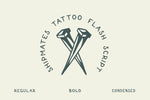 Shipmates Tattoo Font by Out of Step Font Company