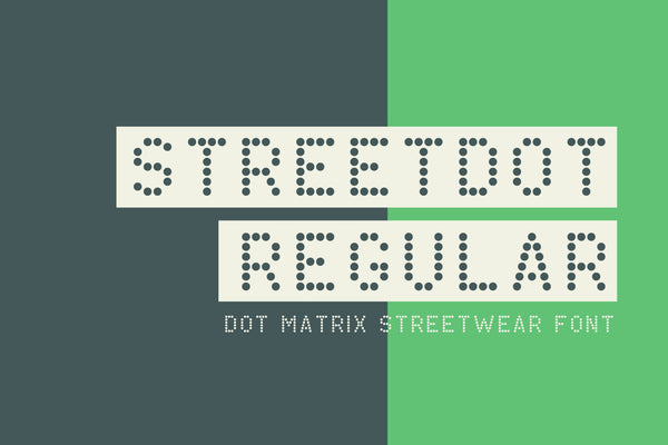 Full version of StreetDot Regular