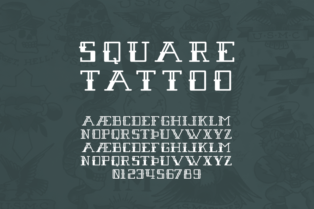 Square Tattoo Regular