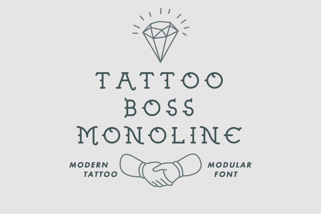 Tattoo Boss Monoline
