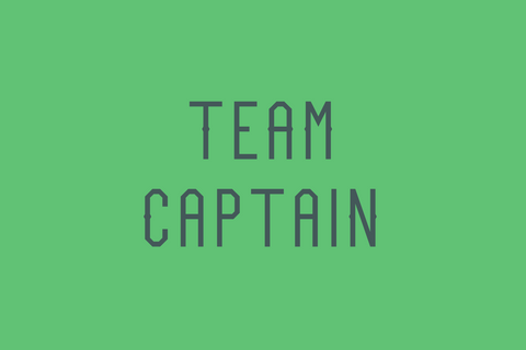 Team Captain athletic sports font by Out of Step Font Company