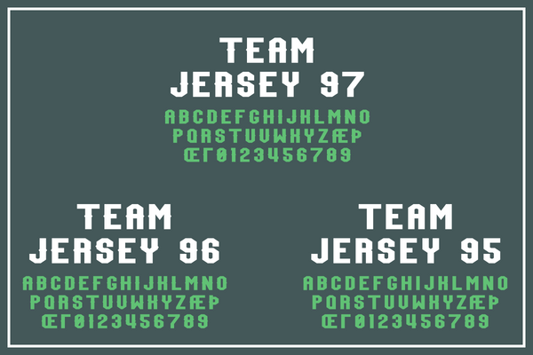Full version of Team Jersey Collection