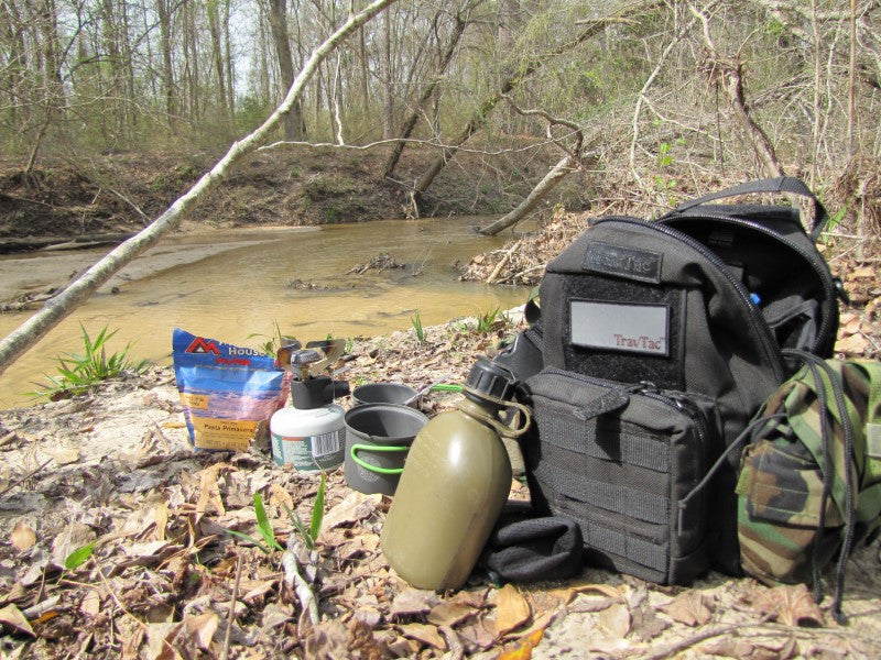 Survivalist Author Reviews TravTac Onyx Sling Bag