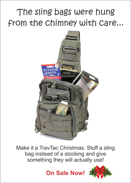 Skip the stockings, stuff a sling bag!