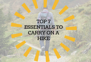 GUEST POST:  Top 7 Essentials to Carry on a Hike